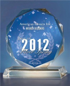 2012 INTERIOR DESIGN AWARD